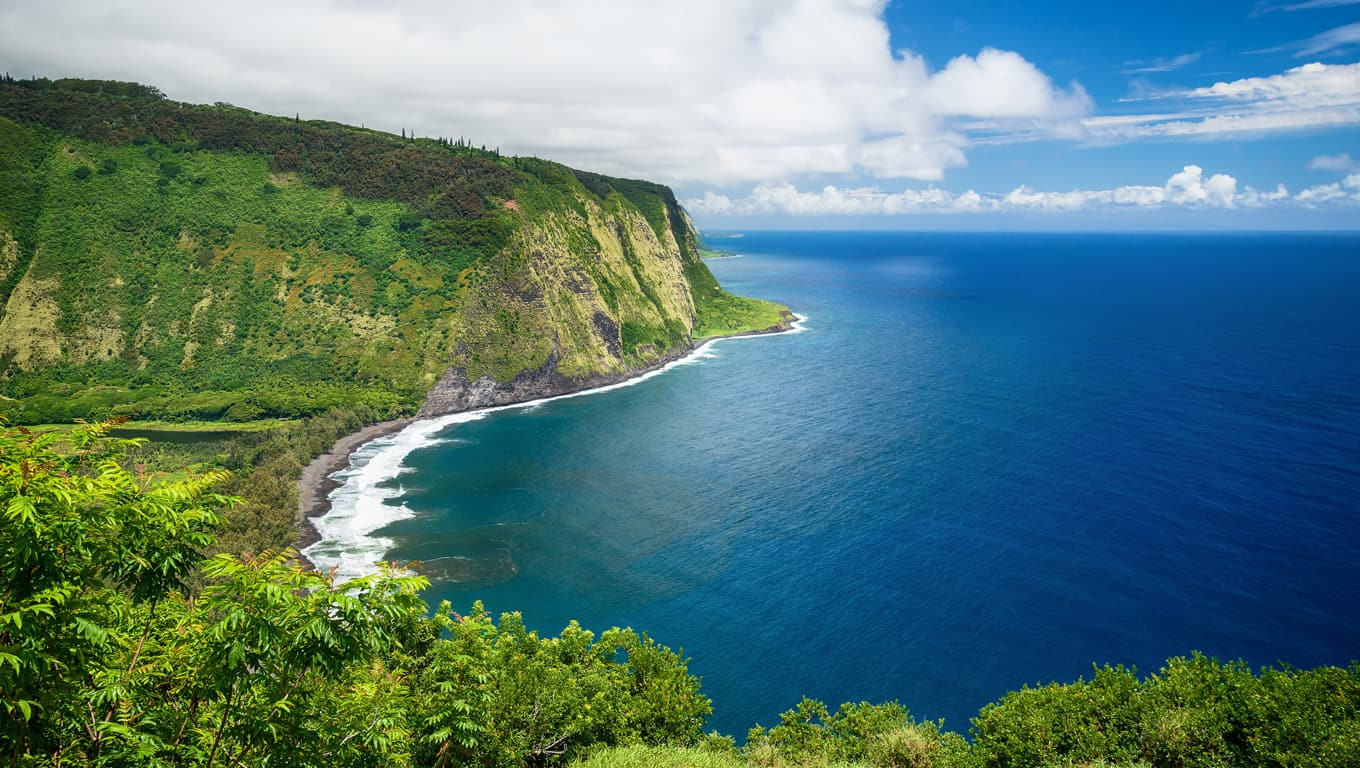 Waipio Beach - Big Island, Hawaii