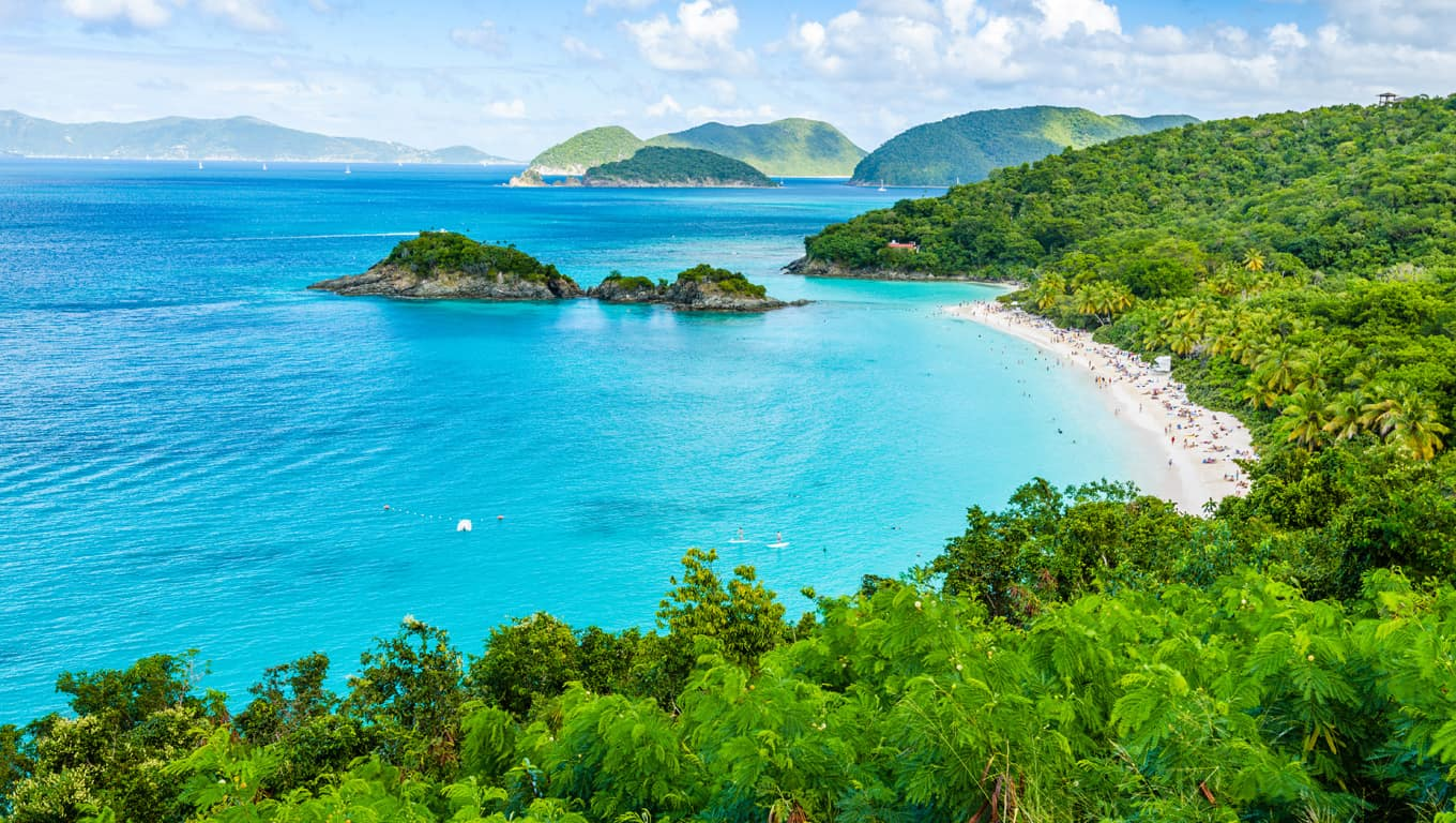 Trunk Bay - St. John, US Virgin Islands
